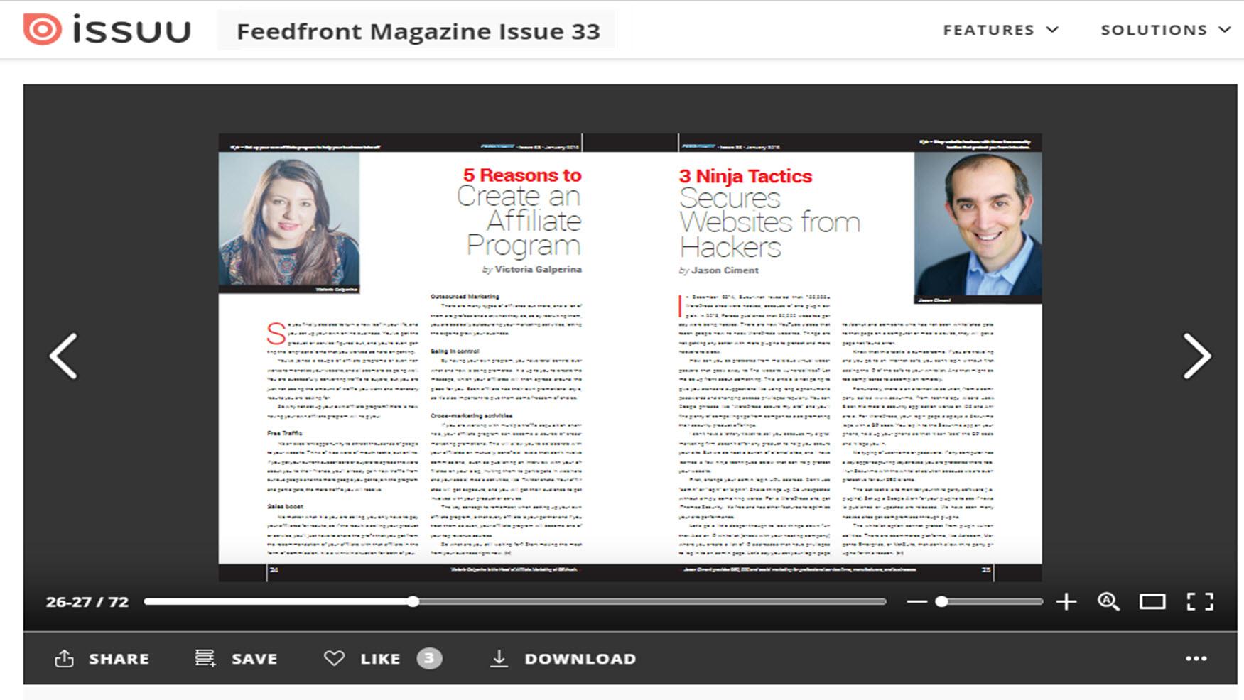 Feedfront Magazine 2015