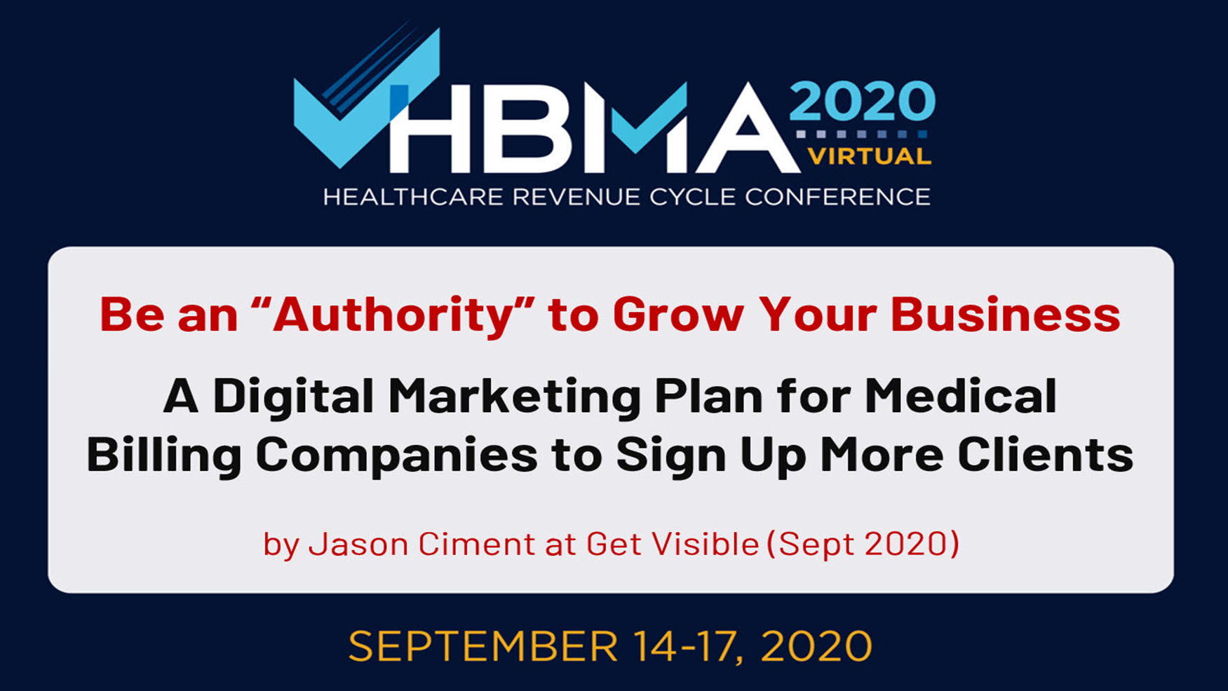 HBMA Annual Conference