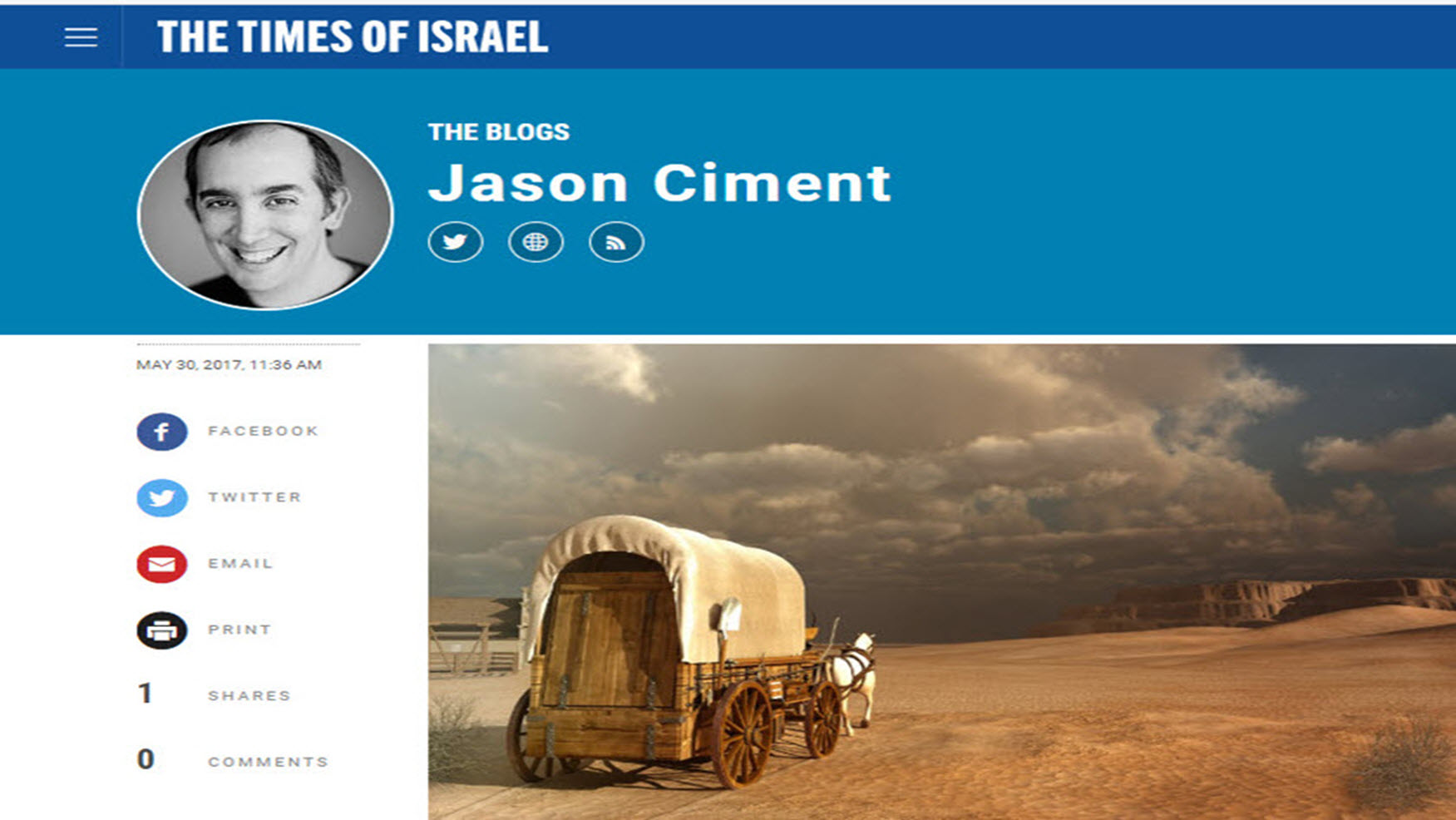 Times of Israel Blog